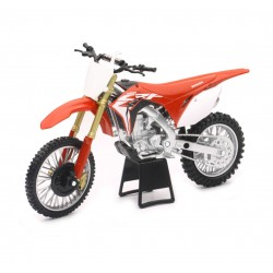 1:12 Scale Dirt Bike Die-Cast Replica 2017 Honda CRF450R