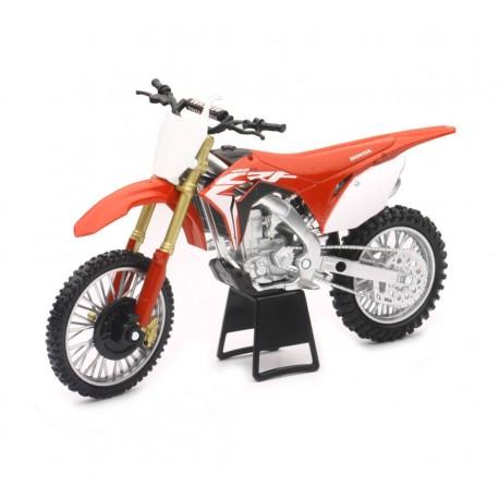 1:12 Scale Dirt Bike Die-Cast Replica 2017 Honda CRF450R