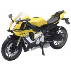 YAMAHA YZF-R1 2016 YELLOW 1:12