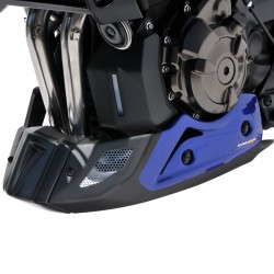 belly pan Ermax MT 07(fz 7 ) 2018-2019, blue metal