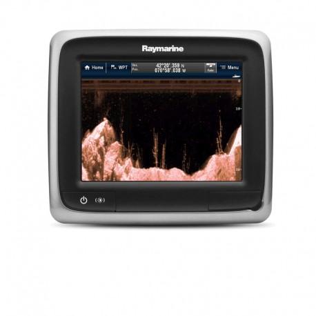 """""""Raymarine"""", a68 5.7 Jutiklinis ekranas su """"DownVision"""" sonaru su CPT-100 psl"""