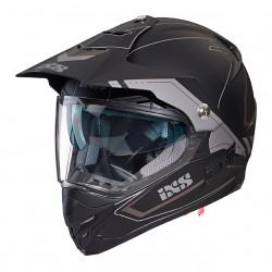 IXS HX207 2.0 Enduro Black Matt/Grey