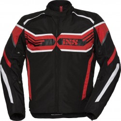 IXS X-Sport RS-400-ST Black/Red/White
