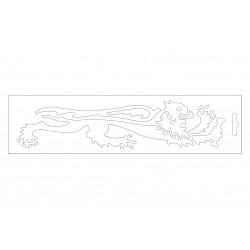 Malossi baltas liūtas dešinė 24cm