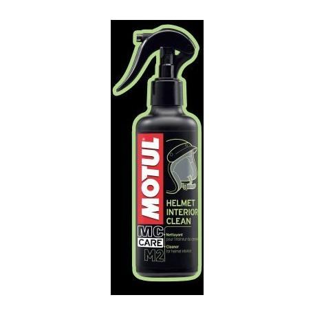 MOTUL HELMET INTERIOR CLEAN M2 250 ml universalus variklis šalmų vidui